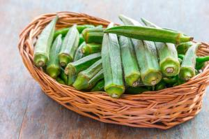green-okra-fresh-organic-basket-cooking-popular-healthy-vegetable-65088099