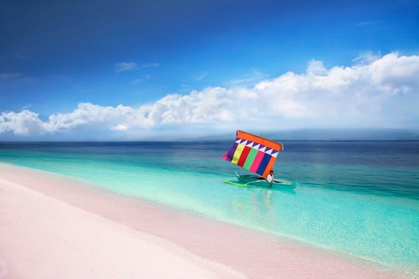 Pink-Sand-Beach-of-Sta-Cruz-Island